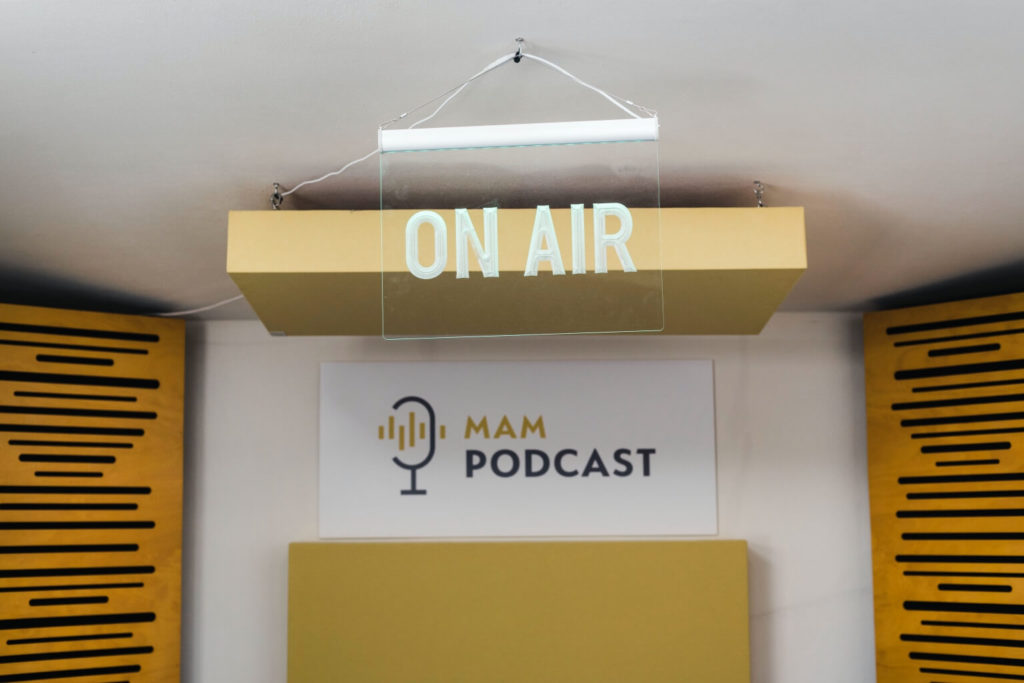 Studio Podcastowe - Tablica On Air -